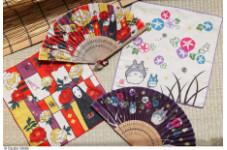 スタジオジブリ作品グッズショップ「どんぐり共和国」和の涼を楽しめる扇子とガーゼハンカチが登場!