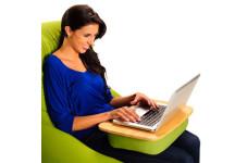 yogiboに座りながら勉強やノートパソコンができる優れもの!「traybo」