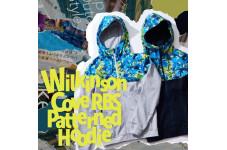 現代アーティストChris Namizawaとコラボレートしたアイテム『Wilkinson Cove Patterned Hoodie』が直営店限定で登場!