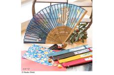 日本の涼を楽しむ涼やかな扇子や夏小物が登場!!