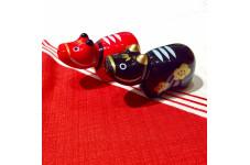 【縁起置物】赤べこ 箸置き