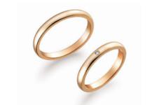 K18ピンクゴールド 結婚指輪