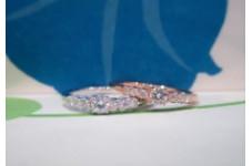 キラキラ ダイヤモンドリング