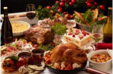 【クリスマスランチビュッフェ】丸焼きチキンやローストビーフが楽しめるクリスマス期間限定ビュッフェ