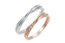 Lovers Ring K10ペアリング