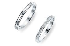 L'or(ロル) プラチナ99.9%の結婚指輪