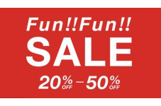 MAX50%OFFのFun!!Fun!!SALE!!
