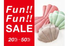 Fun!!Fun!!SALE!!開催中♪♪