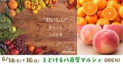 とどける八百屋マルシェ【6/14(金)〜16(日)期間限定OPEN!】