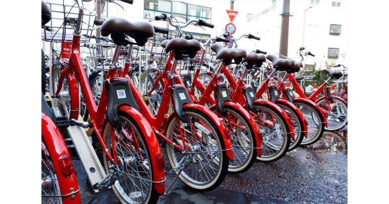 シェアサイクルサービス「メルチャリ」が キャナルシティ博多でもご利用可能になりました!