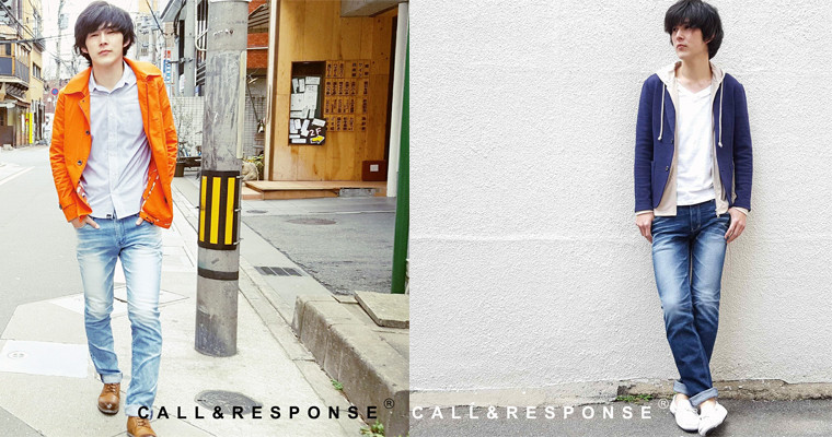 【NEW】CALL&RESPONSE JEANS【4/8(土)OPEN!】