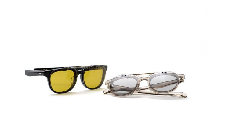 クリップオン付きセルフレーム 金子眼鏡 「KC-66」「KC-67」