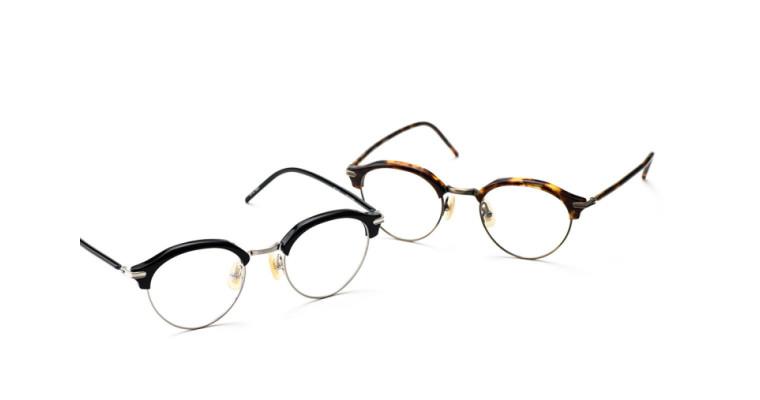 サーモントに、こなれ感を 金子眼鏡 「KV-91」