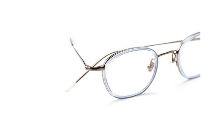 小ぶりなバランスと、ディテールにこだわり 金子眼鏡 「KM-22~24」