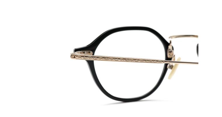 六角形の玉型、ヘキサゴン 金子眼鏡 「KV-85」