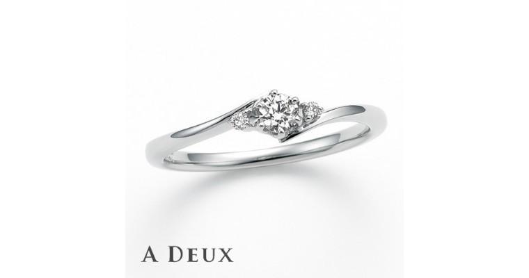 結婚指輪&婚約指輪『A DEUX(アドゥー)』
